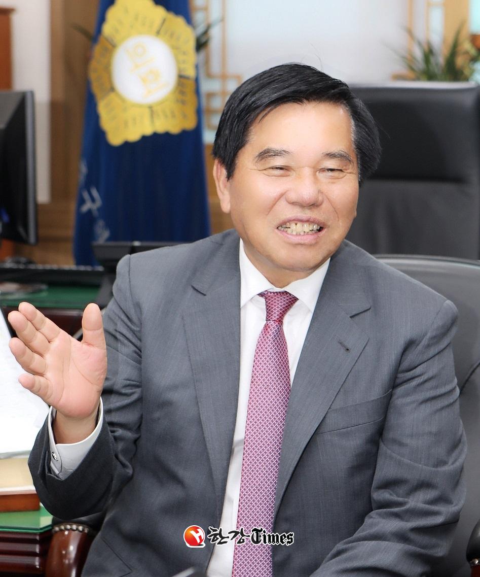 조영훈 서울시구의장협의회장(중구의회 의장)