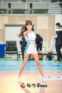 [한강-T포토] 치어리더 안지현