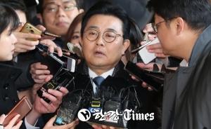 [한강T-포토]전병헌 전 수석, 굳은 표정으로 검찰로~~