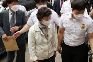 [한강T-포토]윤석열 장모, 1심 3년 실형 선고