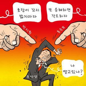 [한강만평] 윤석열